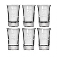 Shot Glasses - 6 pack - Personalized
