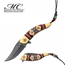 MC MASTERS COLLECTION  - Colorful Tribal Knife