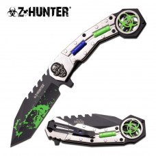 Z HUNTER ZB-151BS SPRING ASSISTED KNIFE
