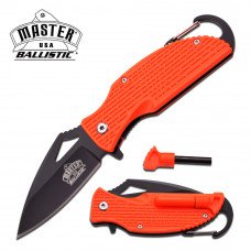 Master USA - Spring Assisted Knife with Carbiner