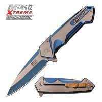 """MTECH USA XTREME MX-A852BL SPRING ASSISTED KNIFE 4.75"""""""
