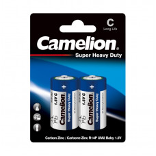 C Super Heavy Duty Batteries, 2 Pack