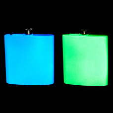 Unique Glow-in-the-Dark 6oz Premium Hip Flasks