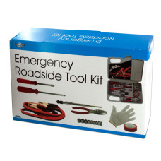 Emergency Roadside Tool Kit in Carrying Case