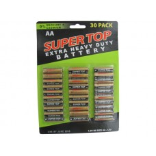 30 Pack AA Batteries