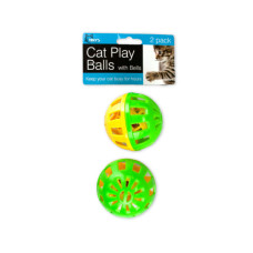 Cat Play Balls with Bells