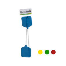 Fly Swatters with Wire Handles