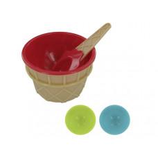 Ice Cream Bowl & Matching Spoon Set