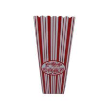 35 oz. Red Striped Popcorn Bucket