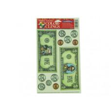 Money window clings