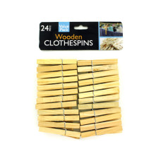 Wooden Clothespins Set