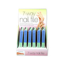 7-Way Nail File Countertop Display