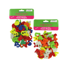 Numbers & Letters Foam Shapes Set