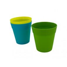 Colorful Plastic Flower Pot