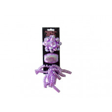 Purple Bow and Ribbon Set