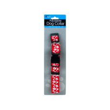 Dog Collar with Paw Print