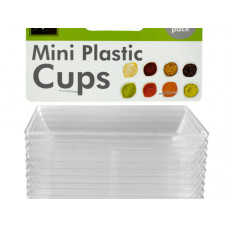 Clear Mini Dipping Dishes Set