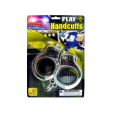 Police Play Plastic Handcuffs