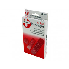 Latex-Free Clear Bandages