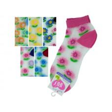 Low Cut Flowers Socks