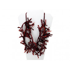 Red Knotted Necklace