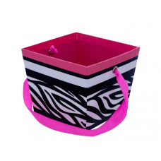 Printed Gift Box with Ribbon Handle