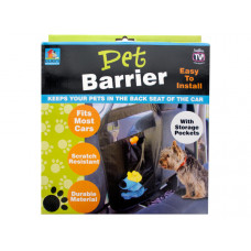 Auto Pet Barrier with Storage Pockets