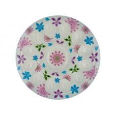 Floral Print Egg Tray
