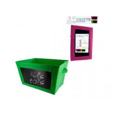 Multi-Purpose Storage Cube with Chalkboard