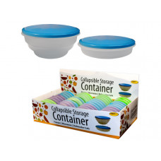 Collapsible Storage Container Countertop Display