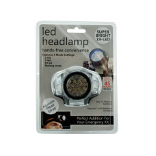 LED Headlamp with 4 Mode Settings