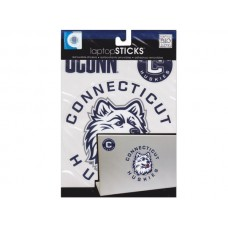 Connecticut Huskies Removable Laptop Stickers
