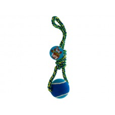 Jumbo Ball & Rope Dog Toy