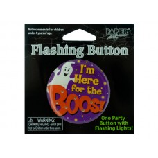 Flashing Halloween Party Button