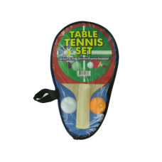 Portable Table Tennis Set in Carrying Case