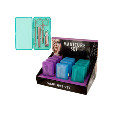 Manicure Set in Case Countertop Display