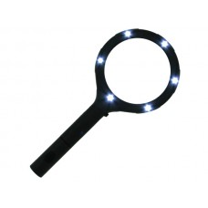 Light-Up Magnifying Glass Countertop Display