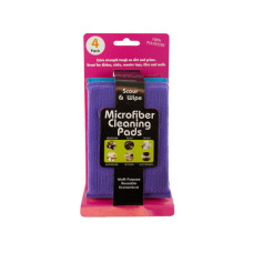 Multi-Purpose Microfiber Cleaning Pads