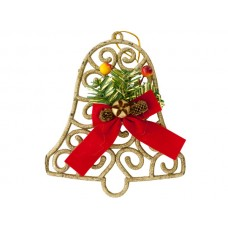 Christmas Glitter Bell Hanging Decoration