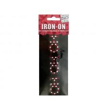 'Ho Ho Ho' Rhinestone Iron-On Transfer