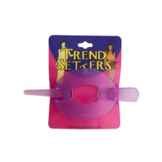 Translucent Hair Barrette with Stick