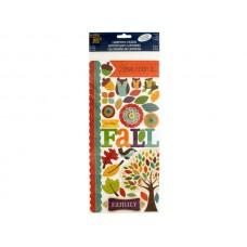 Beautiful Fall Cardstock Stickers