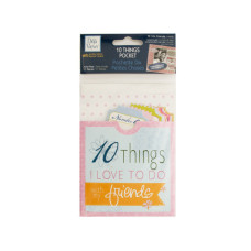 10 Things Friends Journaling Pocket