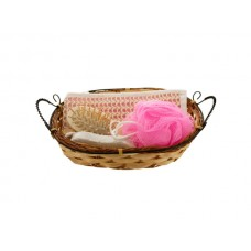 Bath Set in Wicker Basket