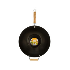 Wok with Easy to Clean Coated Surface