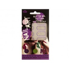 Dots Nail Art Glitter Nail Tattoos Kit
