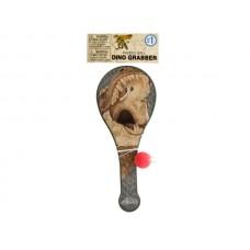 Dinosaur Grabber Paddle Ball Toy