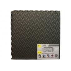 Anti-Fatigue Textured Interlocking Flooring Set