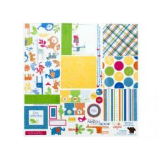 Baby Boy Matchbook Album Kit