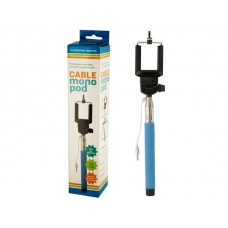 Cable Monopod Stick With Push Button